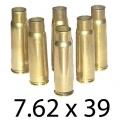 7.62x39 Once Fired Brass